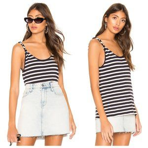 NWT Current/Elliott The Twisted Tank Striped Top